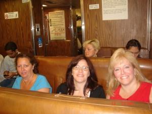 Daria Yanez, Stephanie Julian, moi