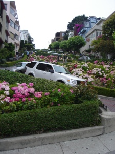Lombard Street, the crookedest street in the world