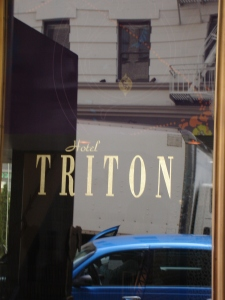 My hero's last name in In Over Her Head is Tritone. Couldn't pass this up!
