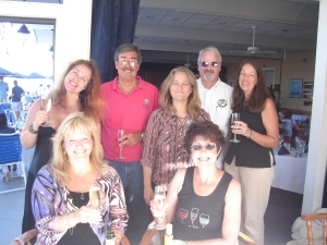 (from Left) Judi, Dana, John, Lisa, Ken, Judy (Wombat Fancier), Brenda