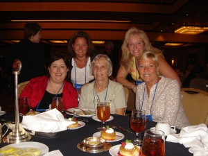 Robin, Daria, Nellie (honorary!), Judi, Sharyn