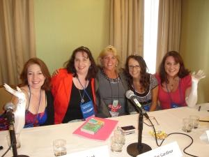 Denise, Elaine, Jenny, Jess, Lisa
