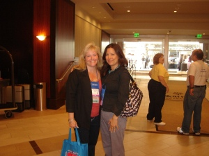 me and my agent, Jennifer Schober of Spencerhill Associates