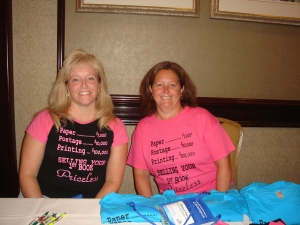 Me and Daria. See www.vfrw.com to order these shirts.