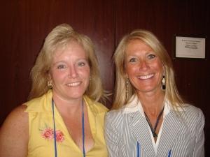 Judi and FCR-er Melinda Stanley