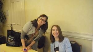 RT Staff Geniuses :) Elissa Petruzzi and Giselle Hirtenfeld/Goldfeder
