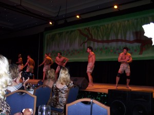 More Cavemen dancing