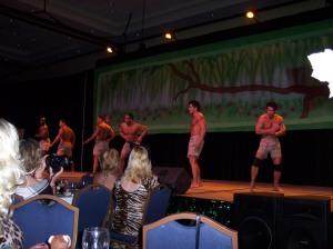 More Cavemen dancing