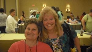 """me and Judi McCoy (two """"Judi With an I""""s)"""