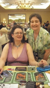 Lynne Connolly and Helen Scott Taylor