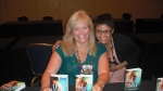 Sourcebooks signing - with the ARC of Wild Blue Under