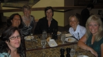 Valley Forge Romance Writers (+1): Stephanie Julian, Daria Czyon, Ann Twinkles LaBar Russek, Mary Yelesin, Laura Morrigan, me