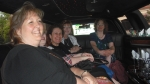 our limo ride