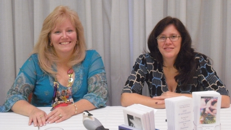 Stephanie Julian and I at book signing